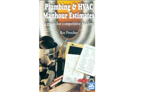 Plumbing & Hvac Manhour Estimates: A Guide to Competitive Bidding - Paperback