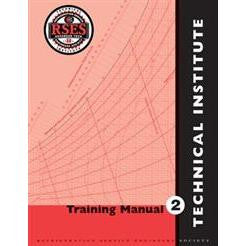 RSES Technical Institute Training Manual 2 Instructor Edition