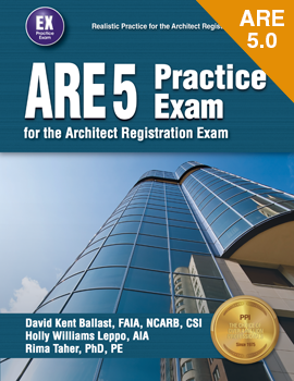 ARE 5 Practice Exam for the Architect Registration Exam (ARE5PX)