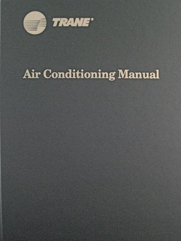 Trane Air Conditioning Manual