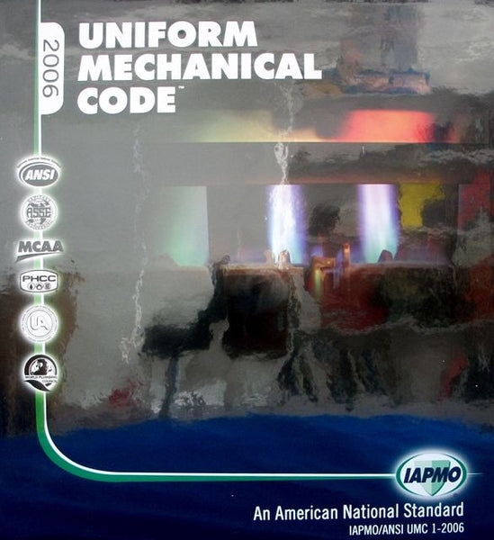 Uniform Mechanical Code 2006 Looseleaf