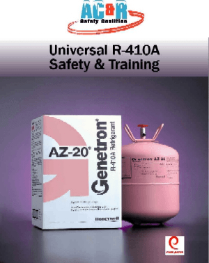 R-410A Universal Safety Manual