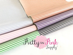 THIN STRIPED Textured Fabric Sheet