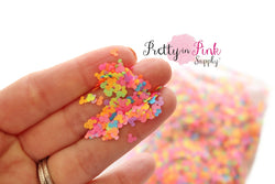 Neon Rainbow Mouse Loose Glitter