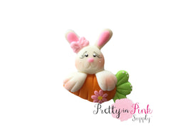 Bunny/Carrot Clay Polymer