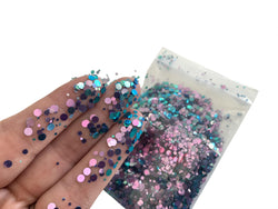 1/2 oz Cotton Candy Iridescent Loose Glitter