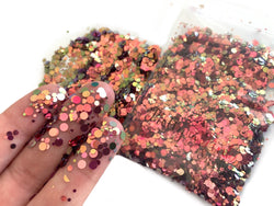 1/2 oz Enchanted Mauve Iridescent Loose Glitter