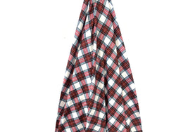 Christmas Plaid Jersey Stretch Fabric