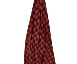Red/Black Plaid Jersey Stretch Fabric DBP