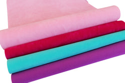 VELVET DOUBLE SIDED Fabric Sheets