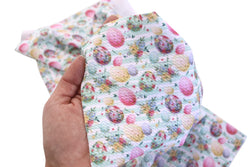 Floral Stripe Chic Egg  Liverpool Fabric