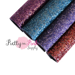 Midnight Chunky Glitter Sheets