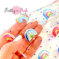 Watercolor Rainbows Jelly Sheet