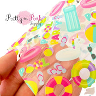 Pool Party Jelly Sheet