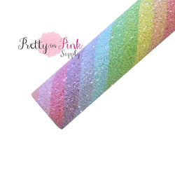 Candy Stripe Chunky Glitter Sheet