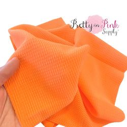 Neon Orange Liverpool Fabric