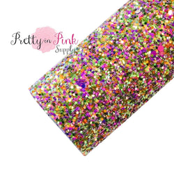 Enchanted Mix Chunky Glitter Sheet