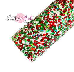 Deck the Halls Chunky Glitter Sheet
