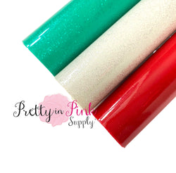 CHRISTMAS Glossy Shimmer Fabric Sheets