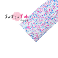 Cotton Candy Chunky Glitter Sheet