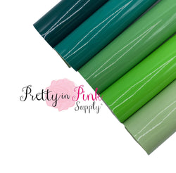 GREENS Glossy Fabric Sheets