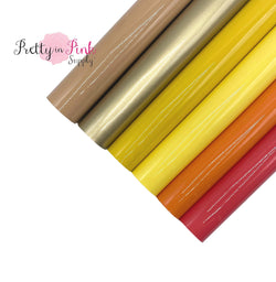 SUNNY BRIGHTS Glossy Fabric Sheets