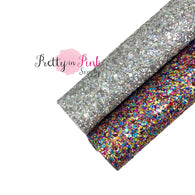 New Years CELEBRATION Chunky Glitter Sheet