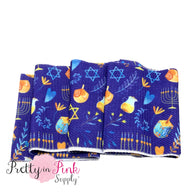 Hanukkah Liverpool Fabric