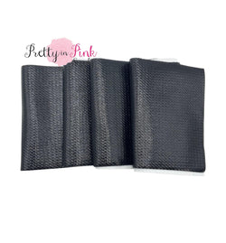 Stretch Metallic Black | Liverpool Fabric STRIPS