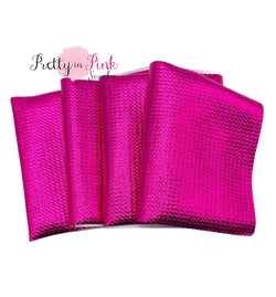 Metallic Hot Pink| Liverpool Fabric STRIPS