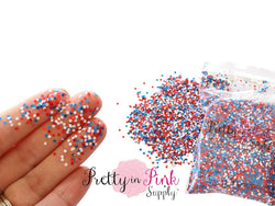 4th of July Confetti Loose Glitter
