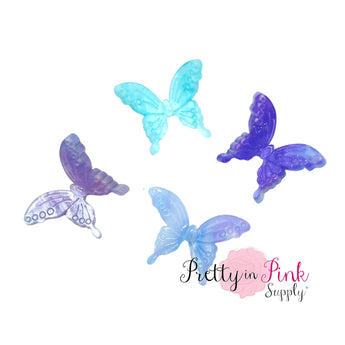 Watercolor Butterfly | 3D Resin Embellishment