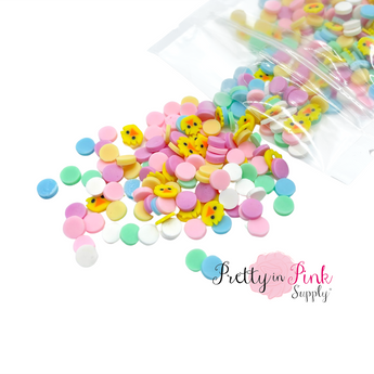 Chicks And Polka Dots | Confetti Loose Clay