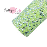 Light Green Sequins | Chunky Glitter Sheet