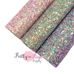 Crystal Iridescent | Chunky Glitter Sheet