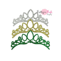 Princess Glitter Felt Crowns