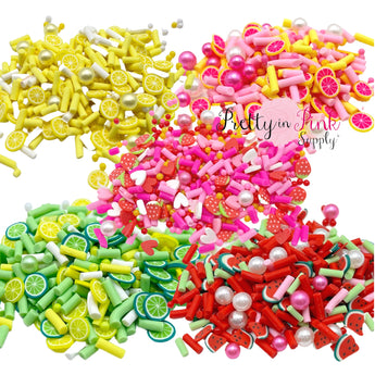 Fruit Sprinkle Pearl Mix | Confetti Loose Clay