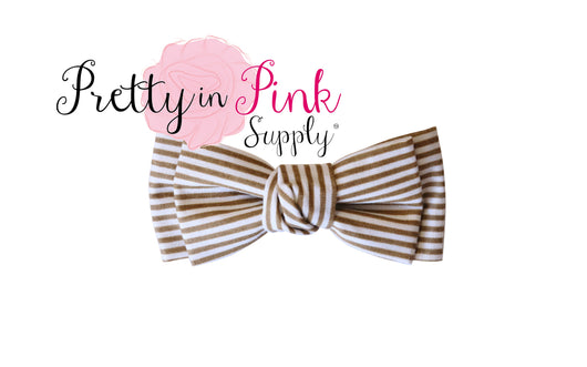 Knotted Fabric Bows