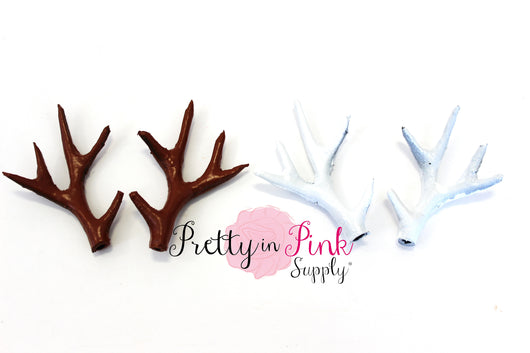 Plastic Antler Embellishments - Pretty in Pink Supply