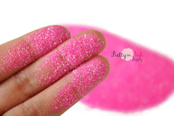 Shocking Pink Iridescent Ultra Fine Glitter