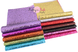 Solid Chunky Glitter Sheets
