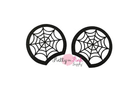 Spiderweb Cutout Felt Glitter Mouse Ears