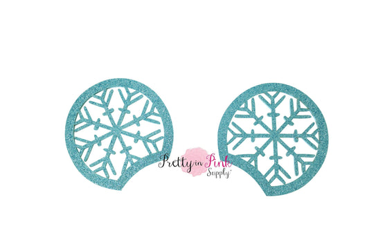 Snowflake Cutout Glitter Mouse Ears - Pretty in Pink Supply