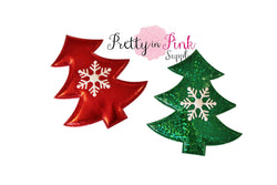 Padded Metallic Christmas Tree