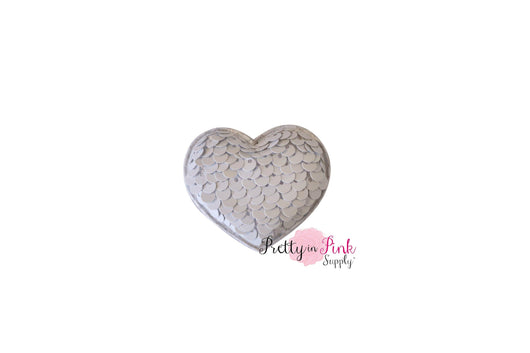 Valentines Day Reversible Sequin Padded Hearts