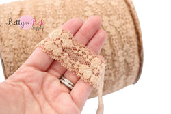 Light Brown Lace Elastic 1