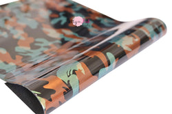 Glossy Camo Fabric Sheet