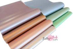 PEARL SMOOTH Soft Faux Leather Sheets