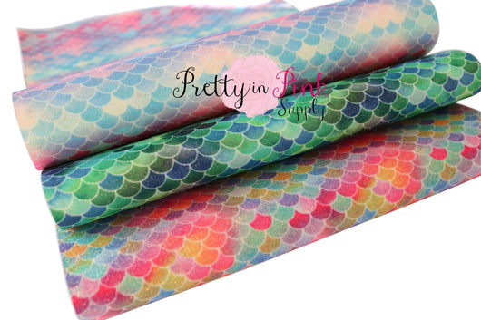 Scales Shimmer Glitter Sheets