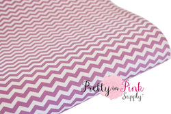 Purple Grape/White Chevron Canvas Sheet